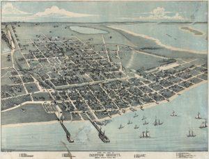 Old Corpus Christi Map Wildlife Streets