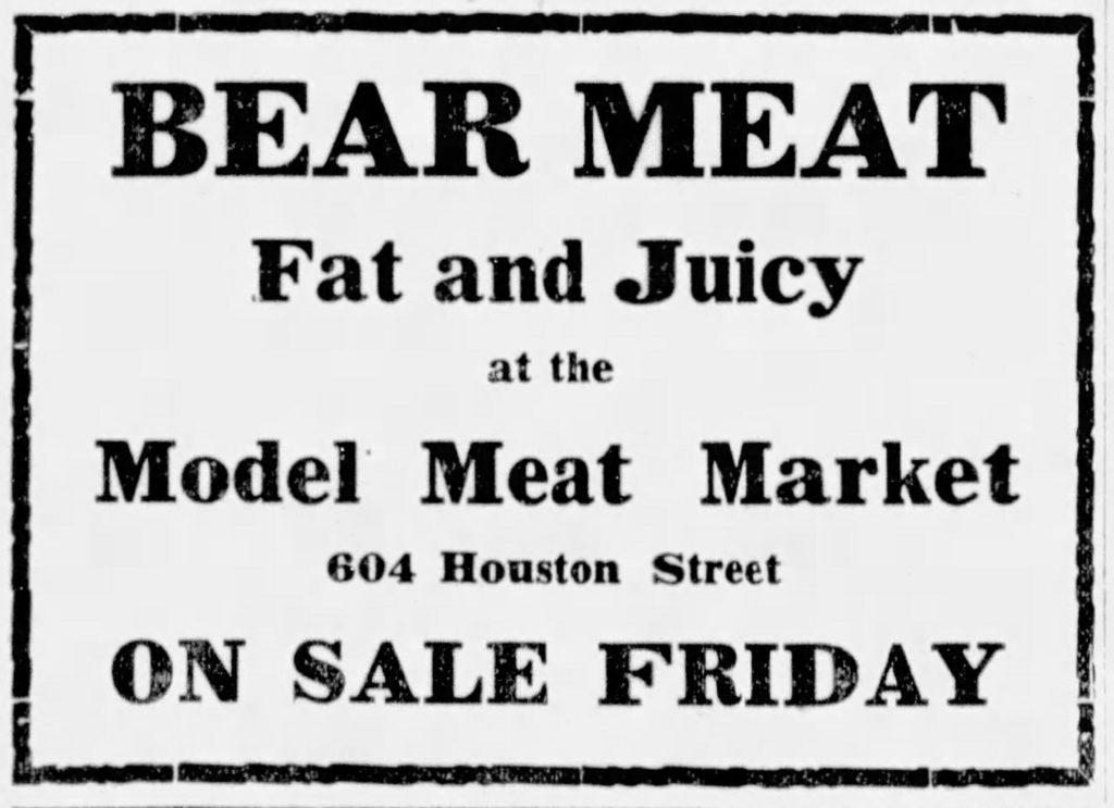 Bear Meat Ad