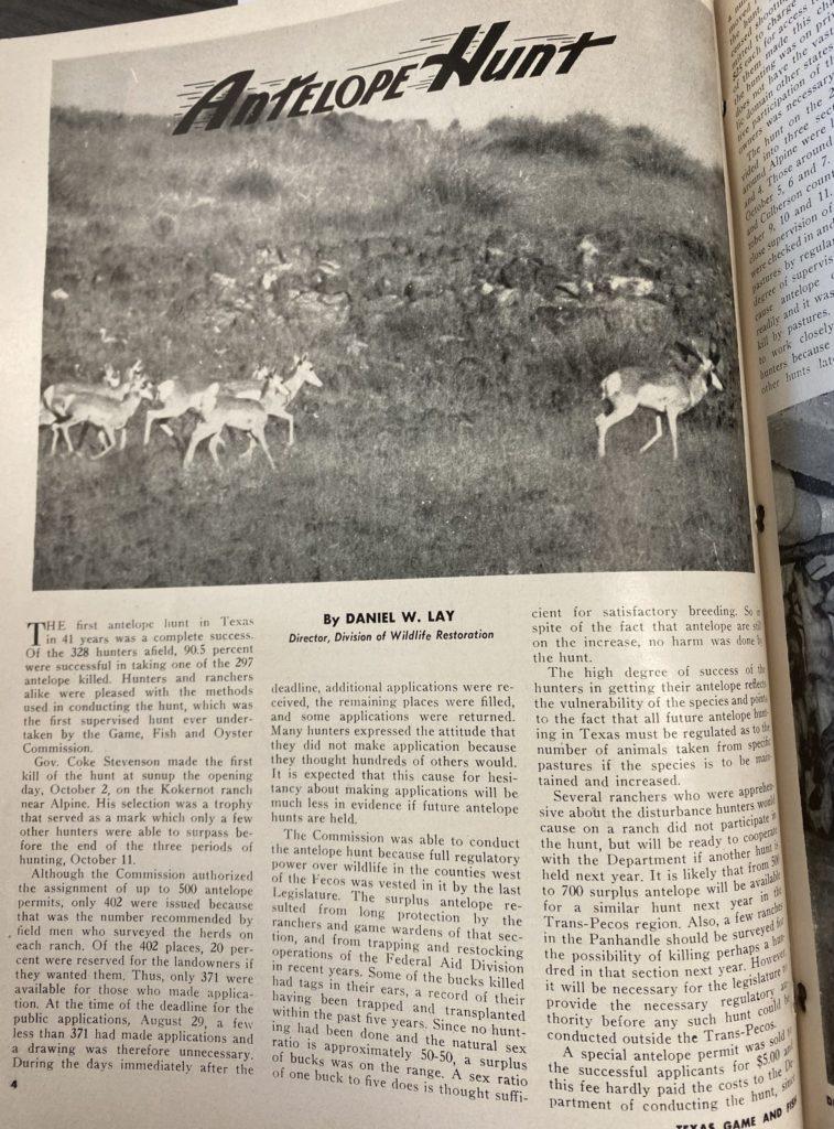 Texas Antelope Hunt p1